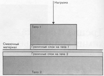 Схема системы трения с учетом